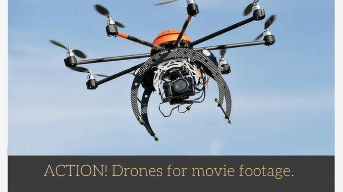 ACTION! Drones For Movie Footage